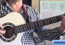 Marilyn Manson Four Rusted Horses разбор на гитаре Guitar lesson