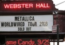 Metallica Webster Hall 2016 Recap (For Whom the Bell Tolls — Live)