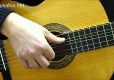Перебор шестерка на гитаре 2