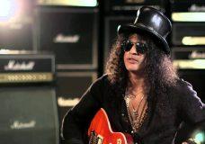 Slash — Интервью в гитарном центре