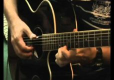цыганочкав лесу родилась елочка — на гитаре