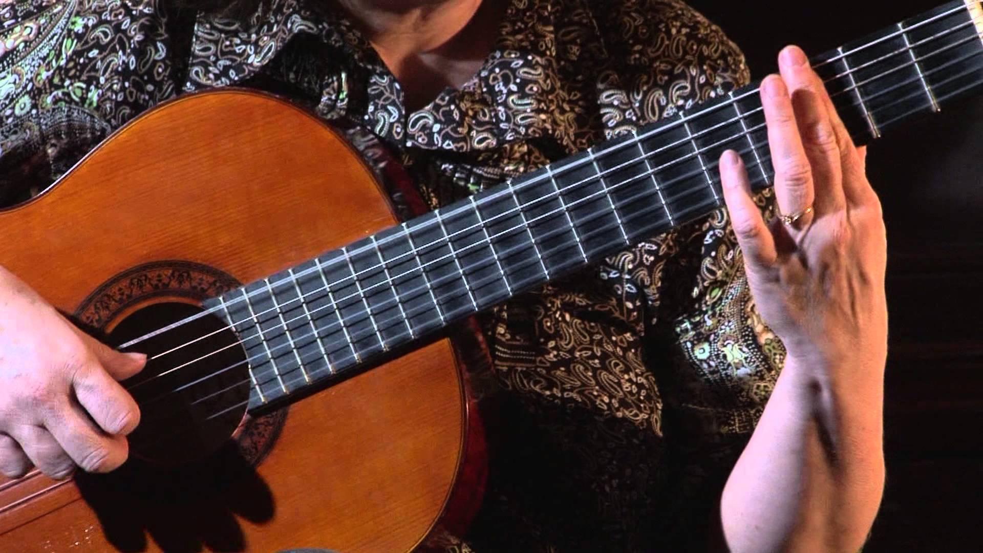 Упражнение «Баррэ» для гитары