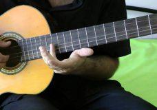 урок на гитаре — металика — Metallica — самый простой вариант очень красивая мелодия