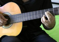 урок по гитаре соната бетховена самая легкая за 20 минут выучите
