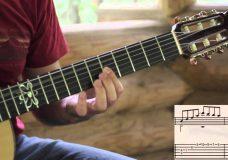 Уроки гитары 15. Город золотой или Средневековая канцона. основная часть. разбор мелодии