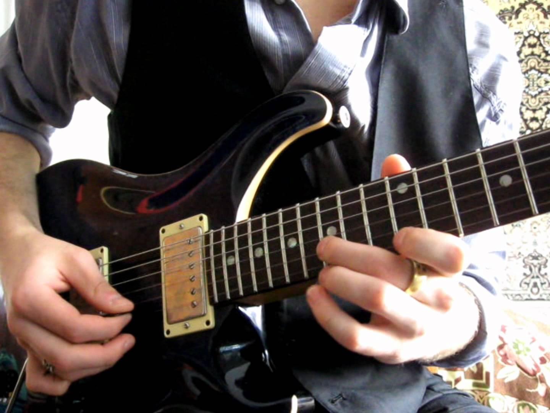 Уроки гитары.  Упражнения для левой руки