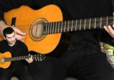 уроки игры на гитаре для начинающих 3 часть