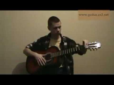 Видеоурок. Устройство гитары. Разбор