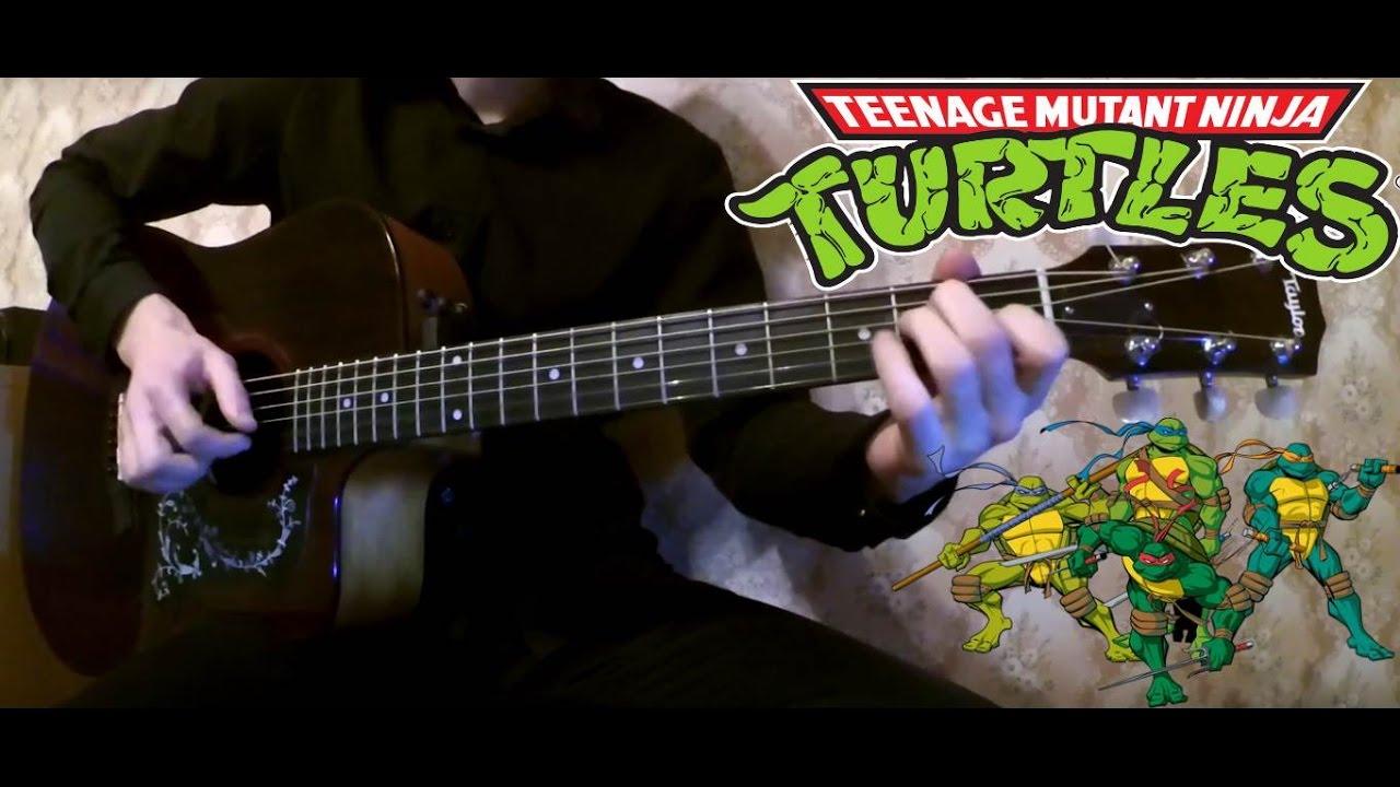10 МУЛЬТФИЛЬМОВ на Гитаре Музыка из Мультиков соло на акустике