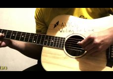 Avicii — Waiting For Love — Acoustic Fingerstyle Cover HD (Tabs)