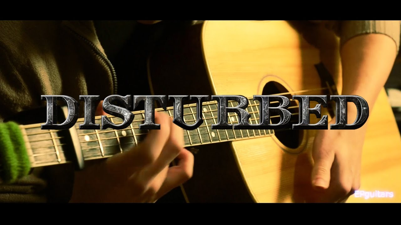 DECADENCE DISTURBED - Acoustic Fingerstyle Guitar Cover