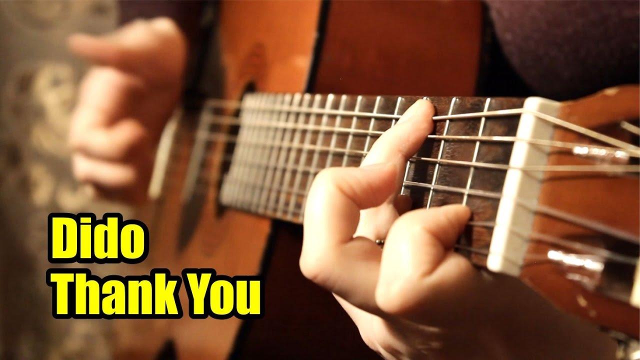 Dido - Thank You На гитаре разбор