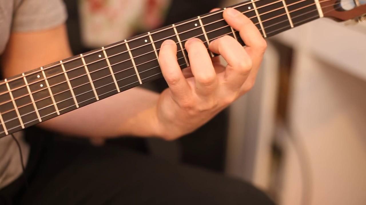 Дмитрий Андрианов - Урок на гитаре 'аккорды с терцией в басу'