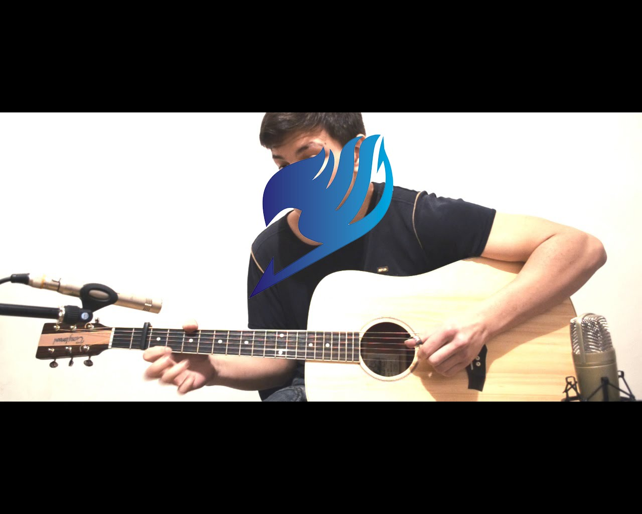 Fairy Tail () Main Theme - Extreme Version Acoustic Fingerstyle Guitar HD