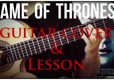 Game of Thrones on guitar (mix — YouTube editor)