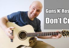 Guns N' Roses — Don't Cry Fingerstyle Guitar