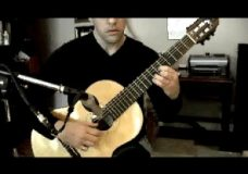 Here Comes the Sun on Classical Guitar