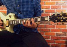 Импровизация из интервалов на гитаре гаммы, пентатоника.