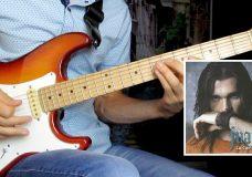 Испанская мелодия на гитаре — Juanes La Camisa Negra