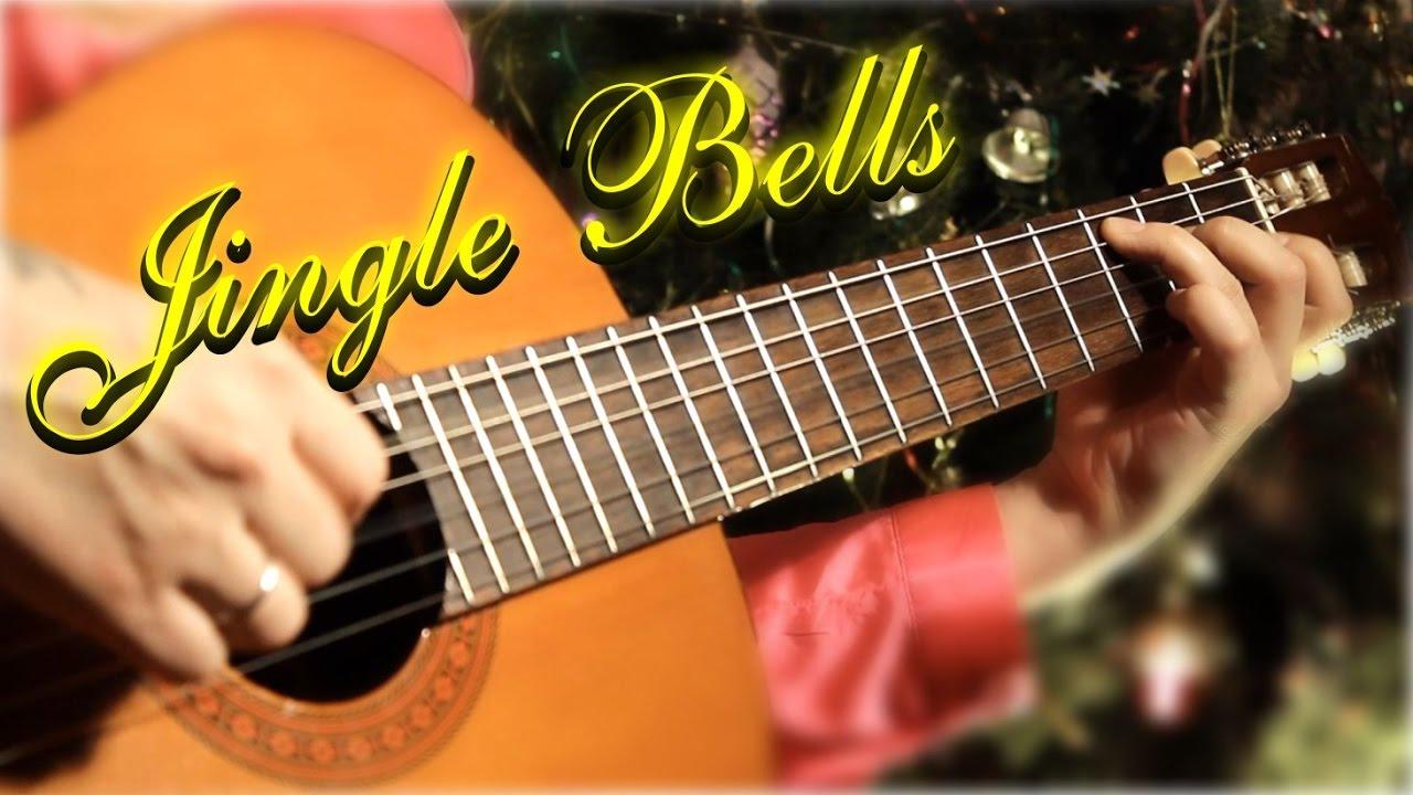 Jingle Bells На гитаре урок