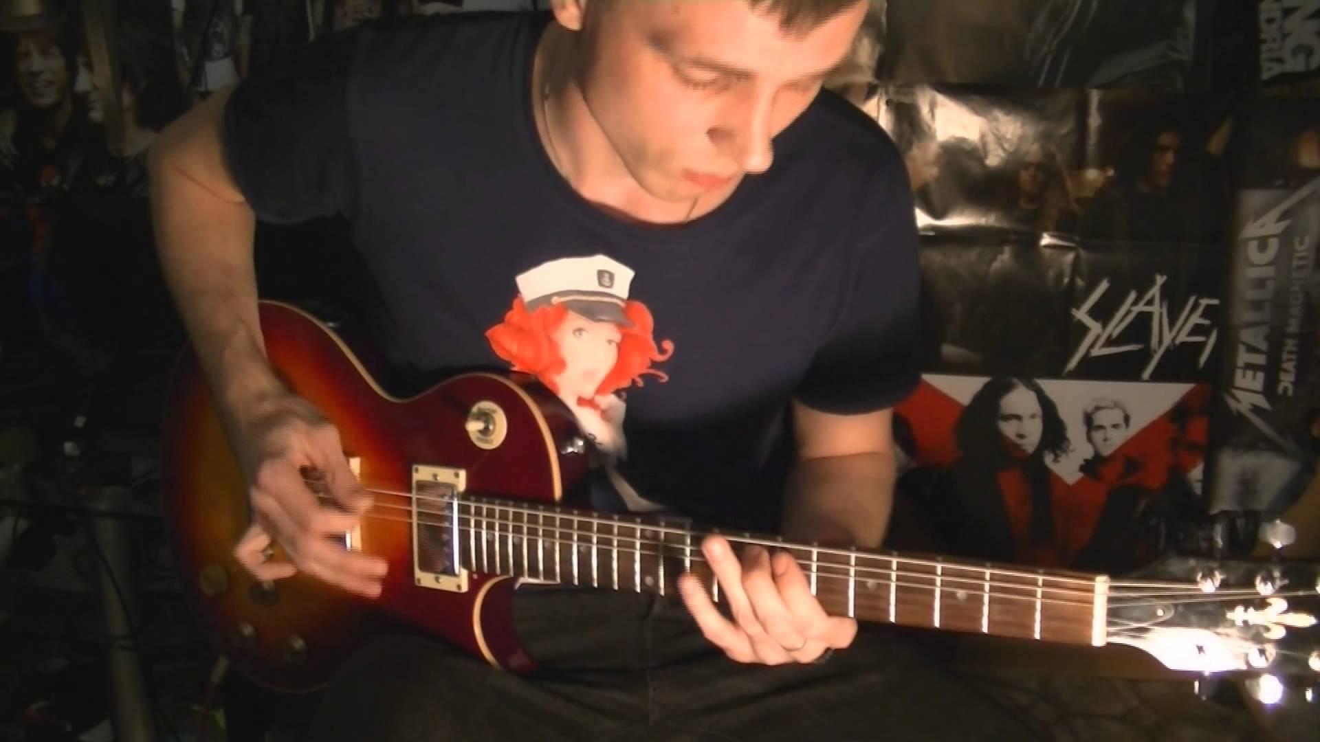 Как играть металл рифы на гитаре