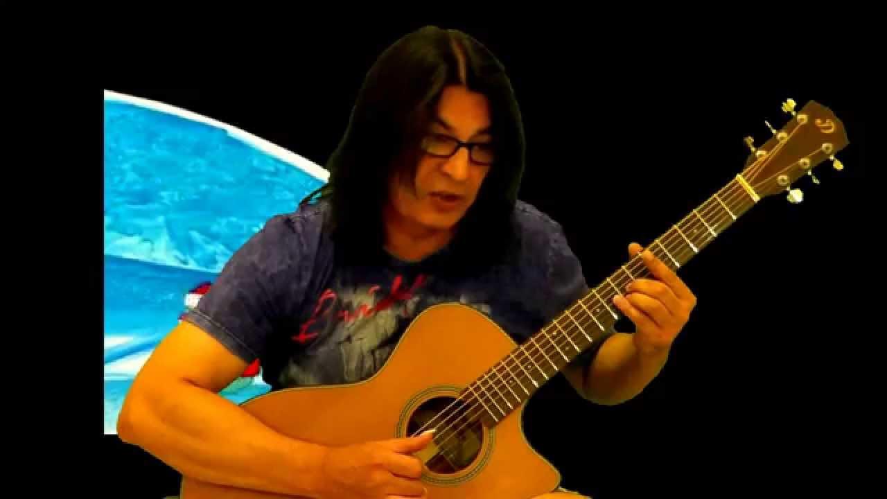 Как играть на гитаре Песня про Деда Мороза видеоразбор