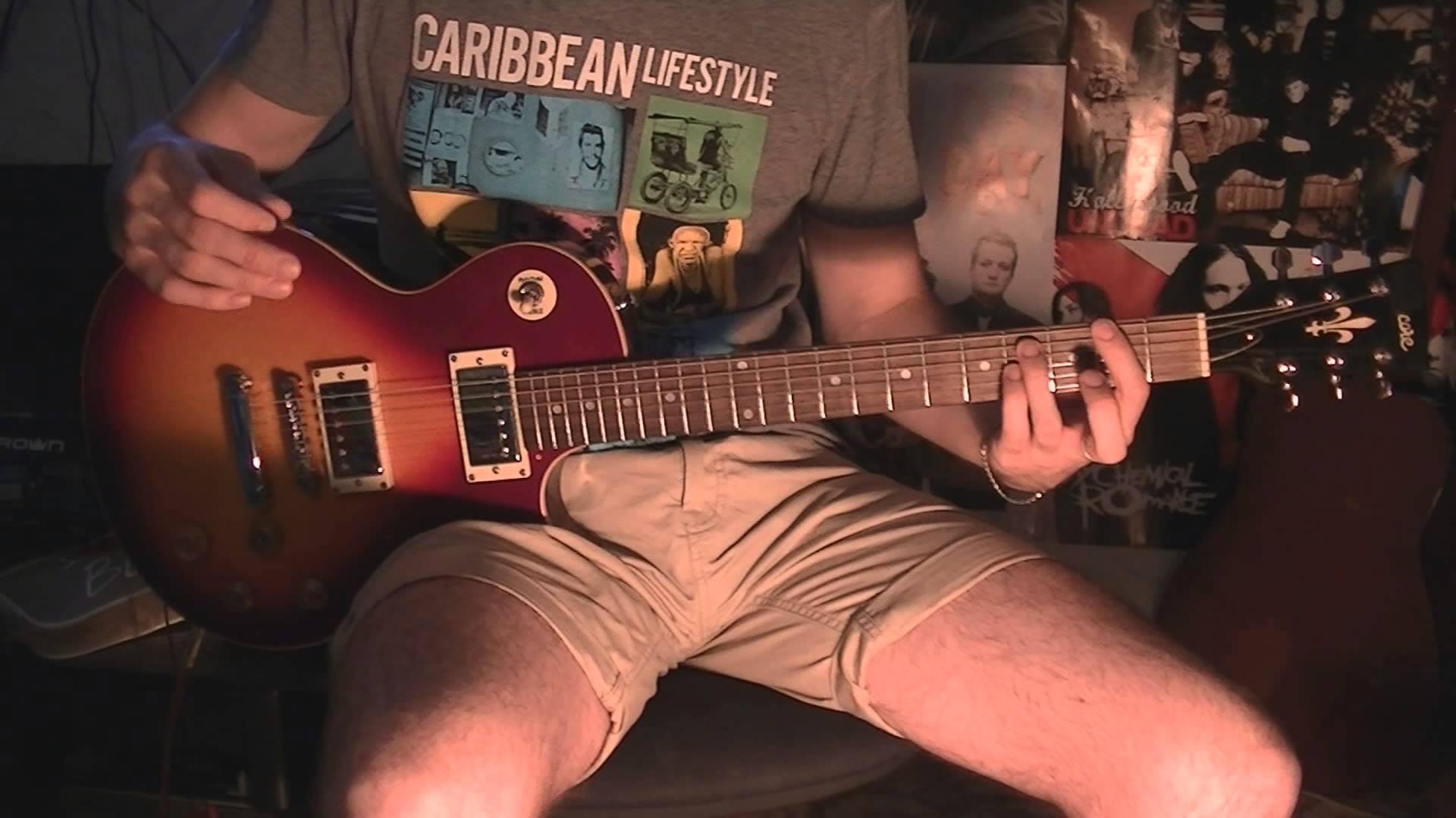Как играть Progressive Metall (Просто забавные аккорды)