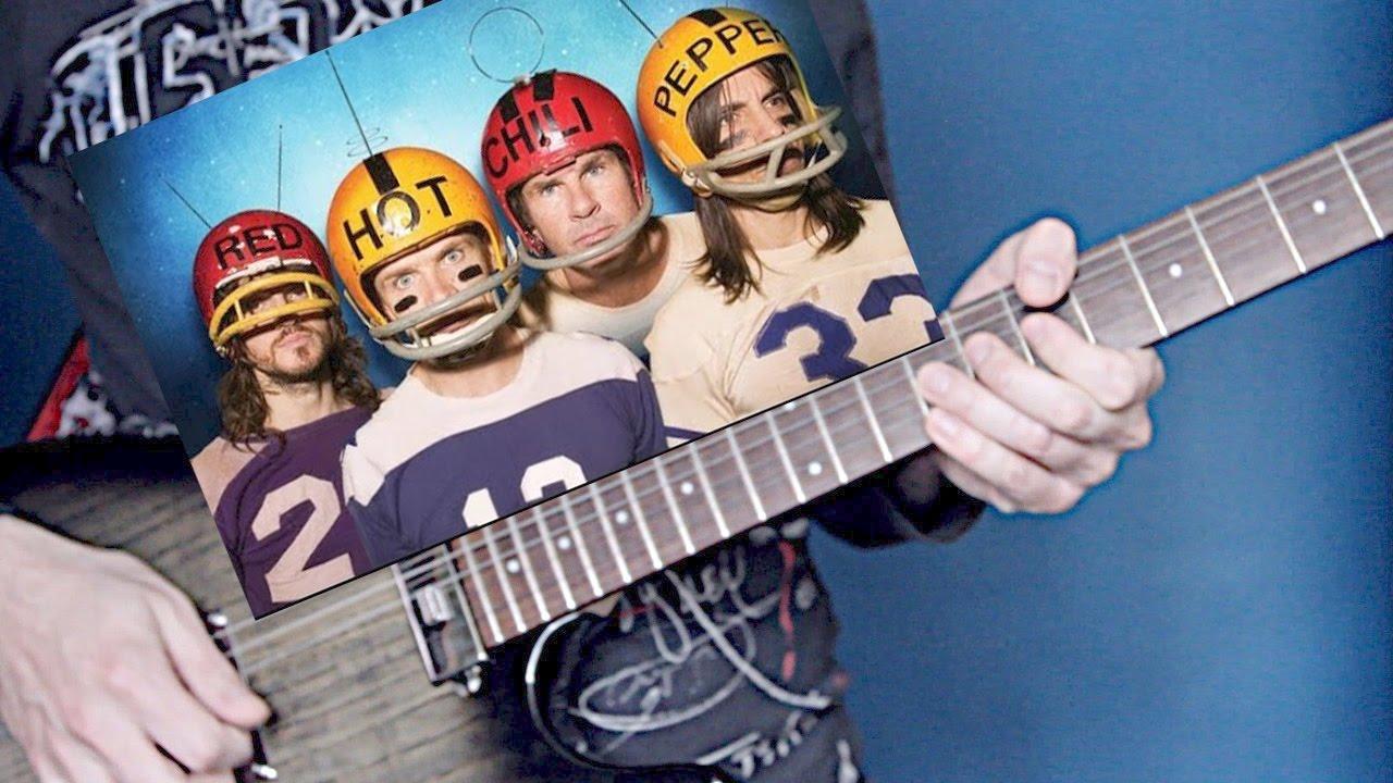 Как играть рифф RHCP - Can't Stop на гитаре