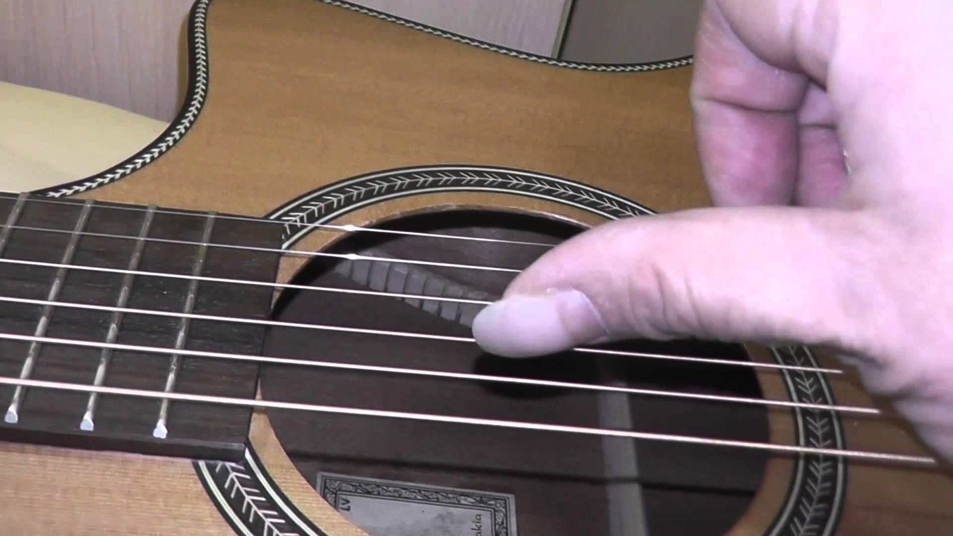 Как сделать так, чтобы гитара звучала красиво
