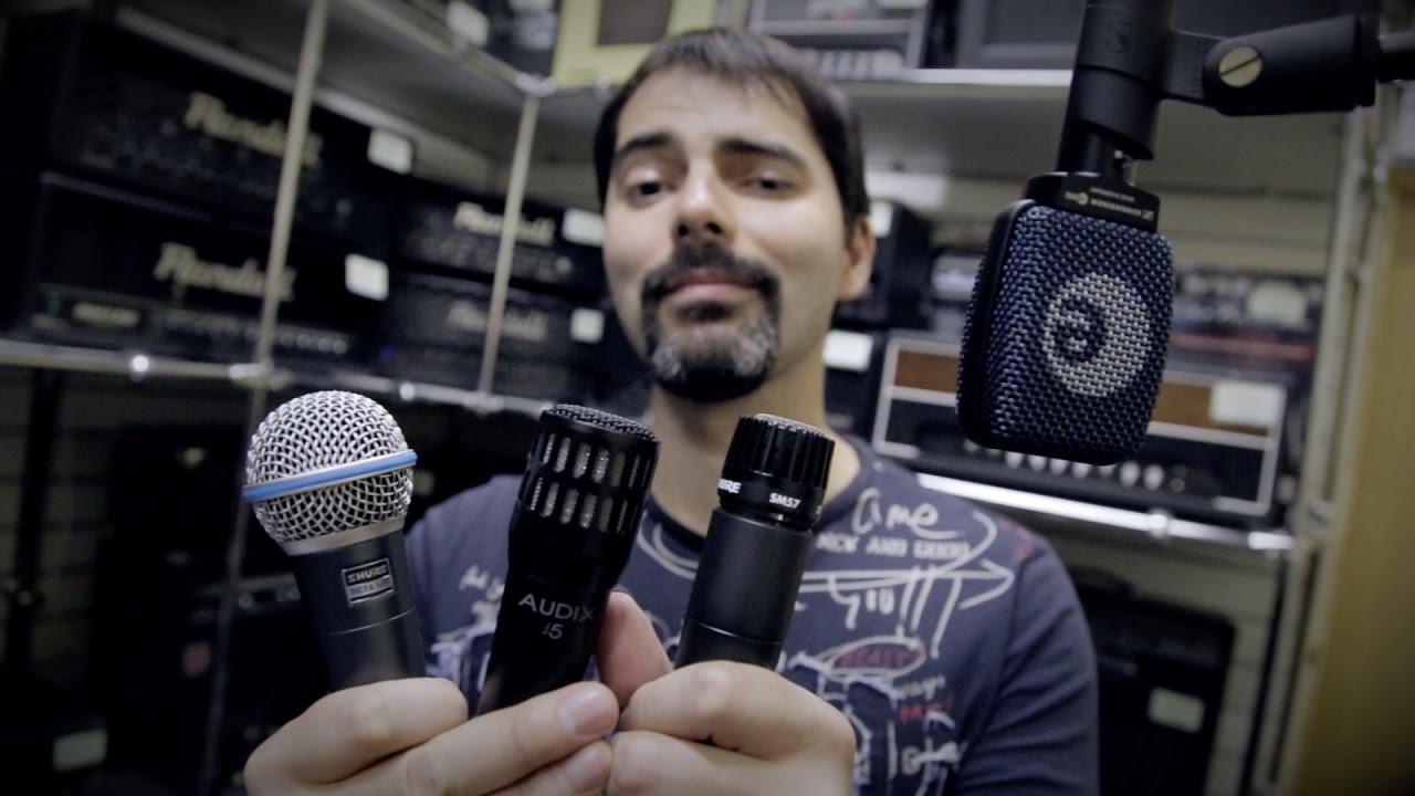Как сильно влияет микрофон на звук электрогитары