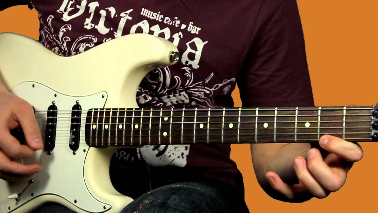 Крутое соло из обычных нот Как играть быстро на электрогитаре