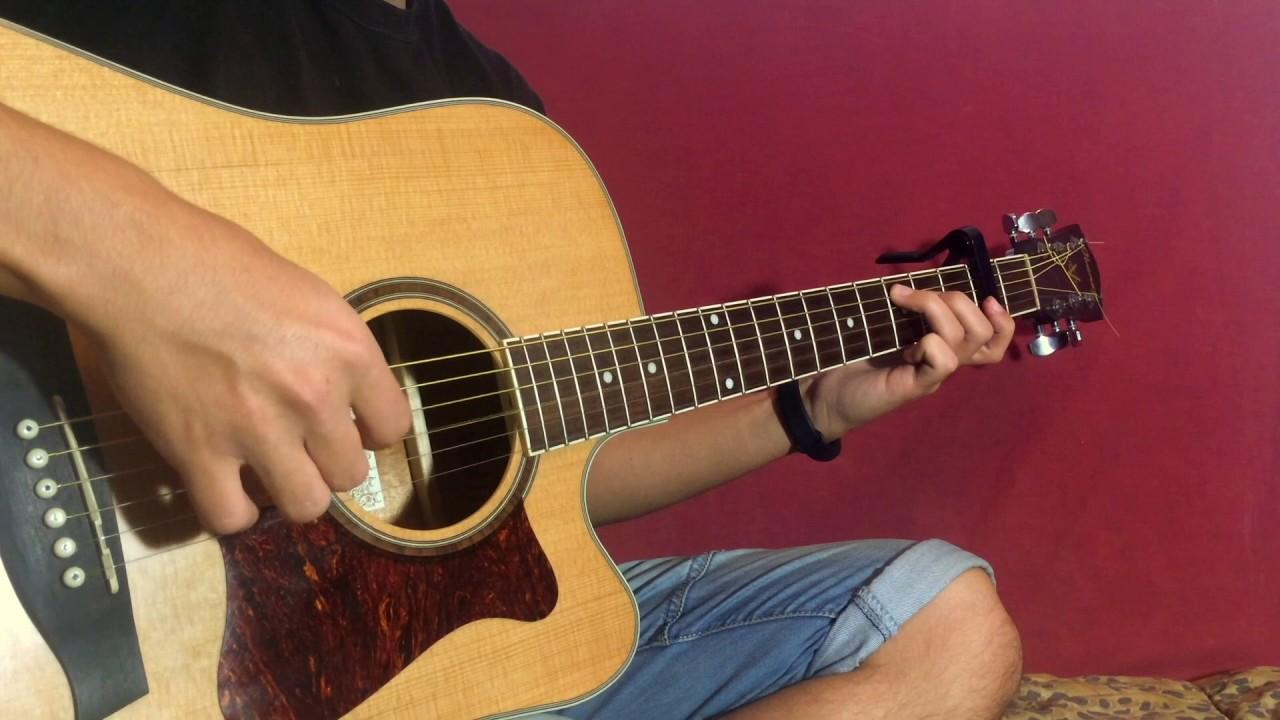 Легендарная мелодия на гитаре (fingerstyle на гитаре - ФИНГЕРСТАЙЛ ГИТАРА )