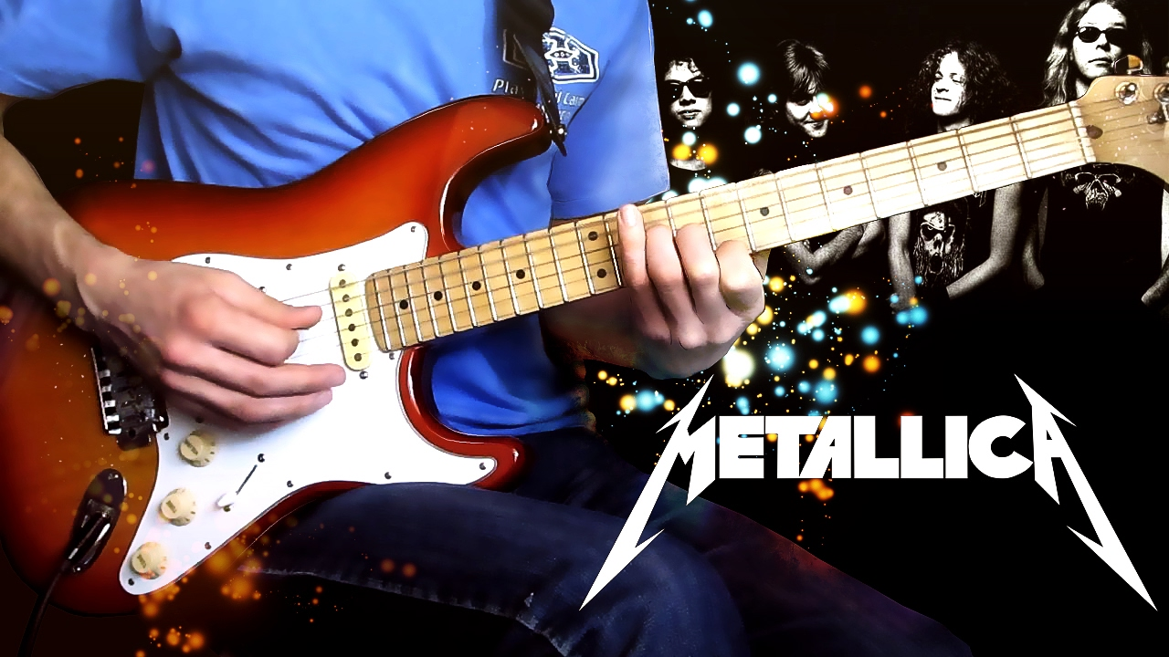 Metallica Nothing Else Matters Соло 1 - Урок на гитаре