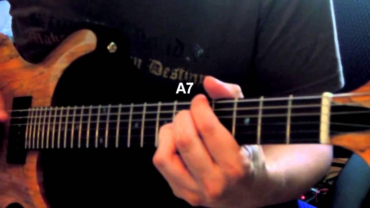 Modern Blues Chords Progression