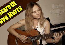Nazareth — Love Hurts На гитаре разбор fingerstyle