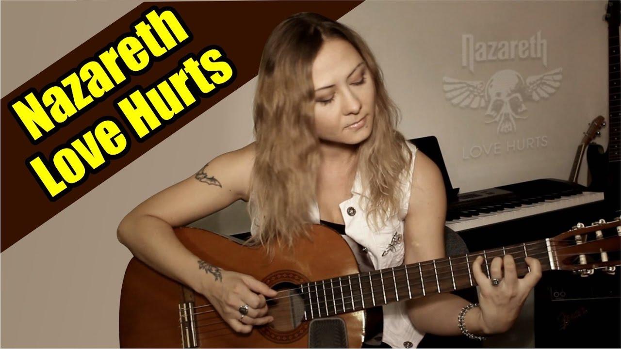 Nazareth - Love Hurts На гитаре разбор fingerstyle