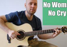 No Woman No Cry — Bob Marley Fingerstyle Guitar