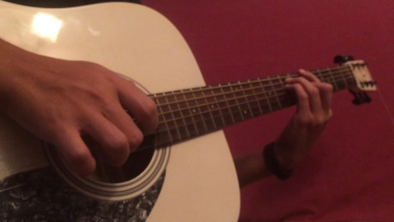 Офигенная мелодия на гитаре (видео-урок нужен ))