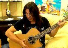 Правильная постановка правой и левой руки на гитаре в стиле фингерстайл