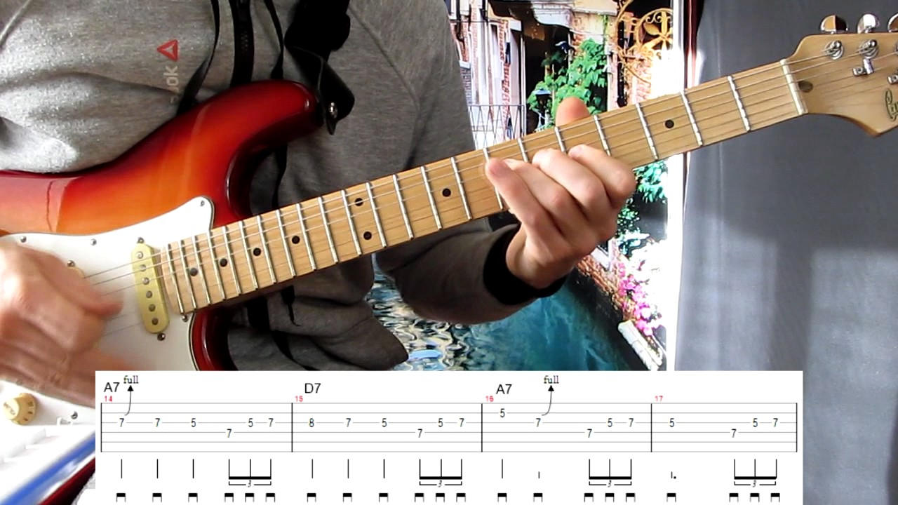 Простой блюз на гитаре — True Blue