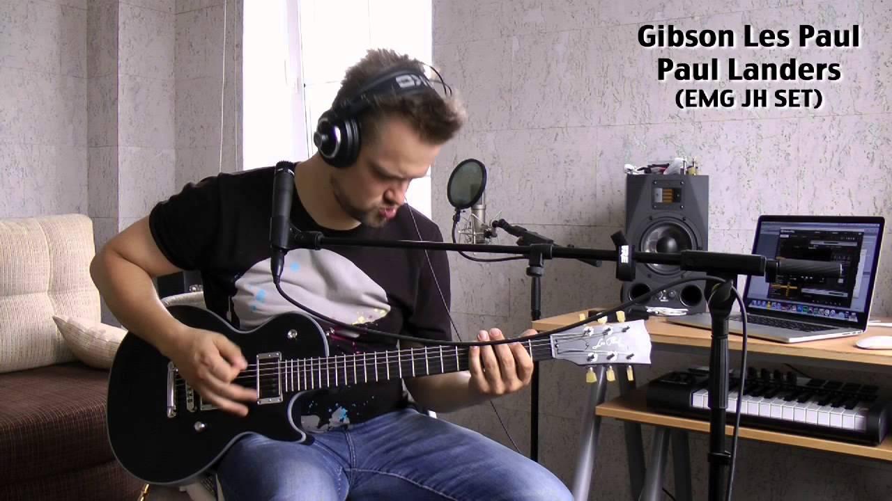 Пушной - Тест гитар Gibson