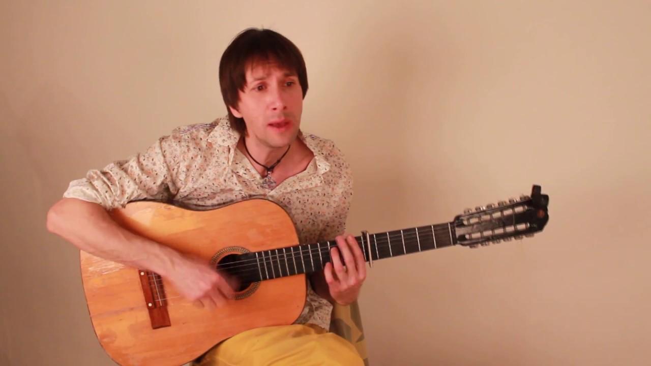 Radiohead 'Creep' in Russian Language Live guitar cover.