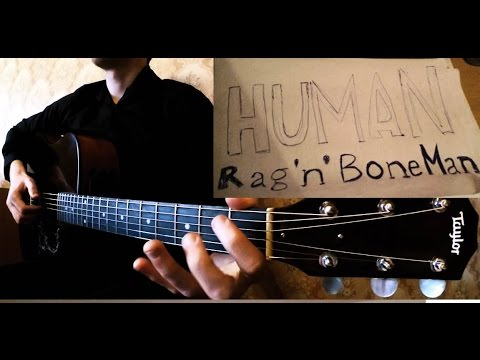 Rag'n'Bone Man - Human ГИТАРА табы Мироненко Артем