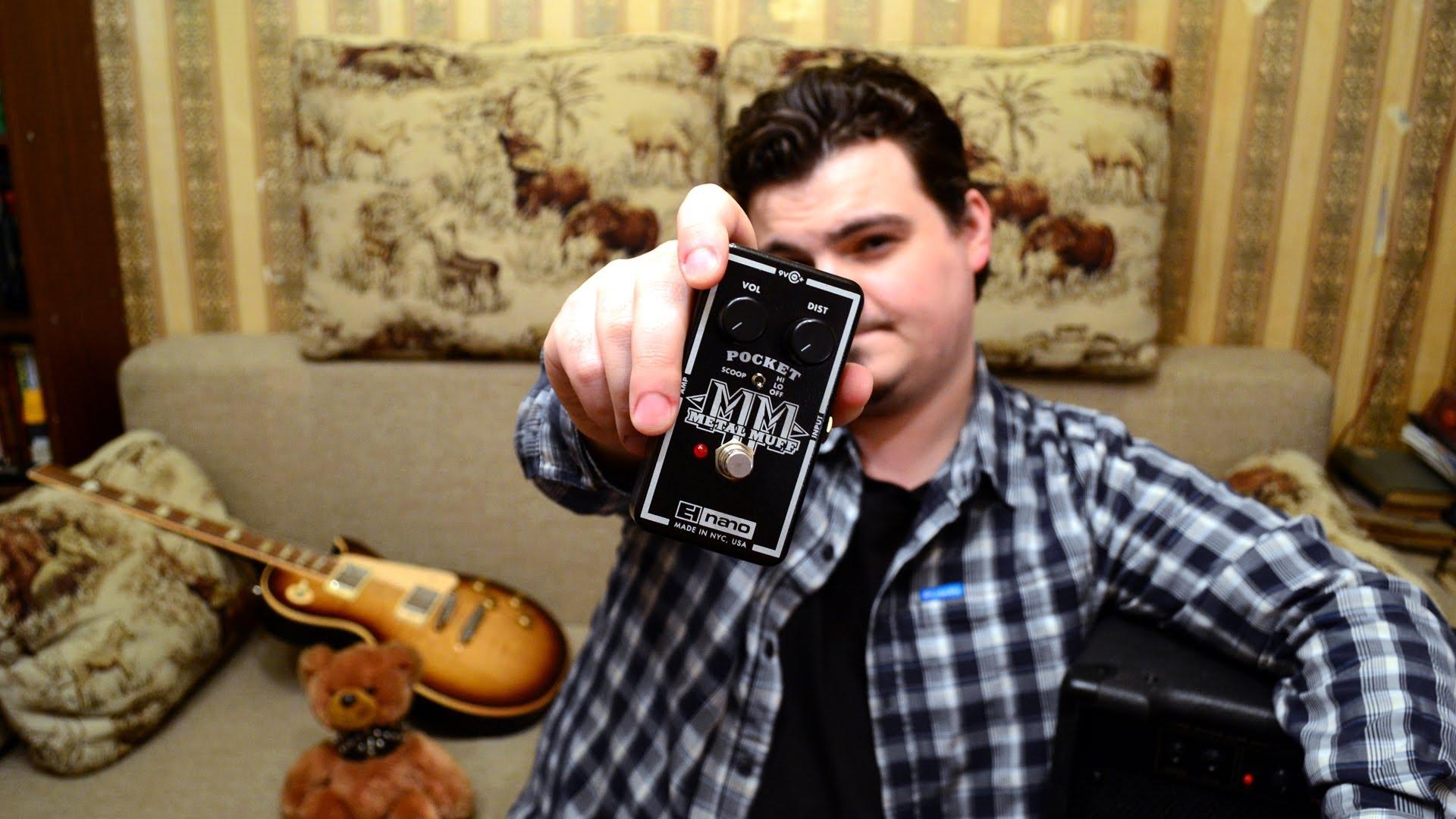 Рокин Факин 35 - Electro-Harmonix Pocket Metal Muff (США)