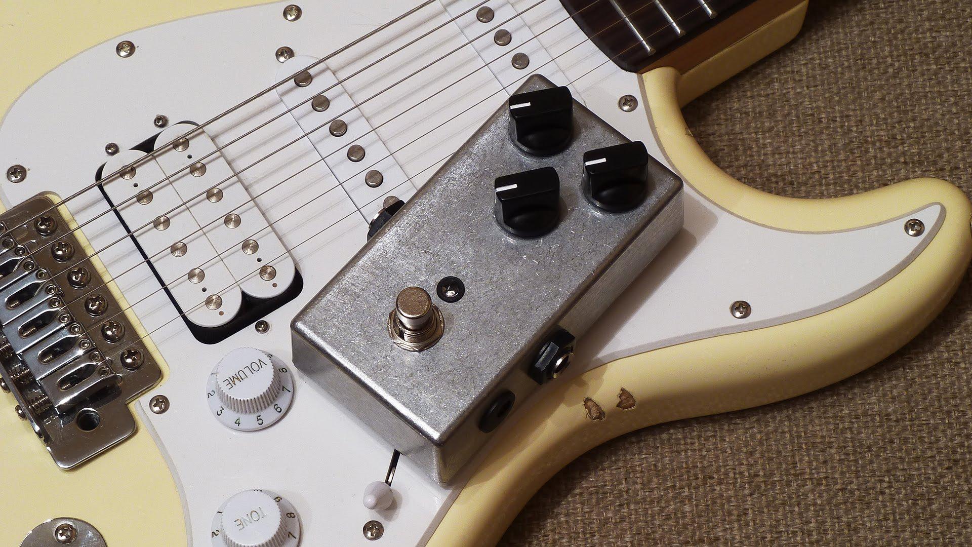 Педали для гитары своими руками