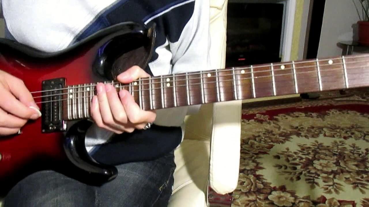 Сектор газа - Новогодняя (Кавер)-Тональность ( G ) Как играть на гитаре песню