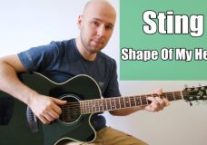 Shape Of My Heart — Sting Fingerstyle Guitar