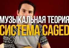 Система CAGED — Как найти любой аккорд на грифе — Уроки игры на гитаре Первый Лад