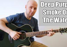 Smoke On The Water - Fingerstyle Guitar (Deep Purple)