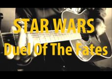 Star Wars — Duel Of The Fates — Acoustic Guitar